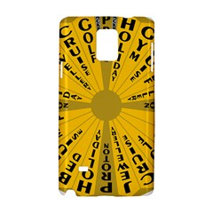 Wheel Of Fortune Australia Episode Bonus Game Samsung Galaxy Note 4 Hardshell Case by Mariart