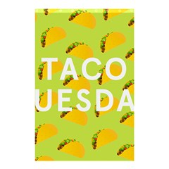 Bread Taco Tuesday Shower Curtain 48  X 72  (small)  by Mariart