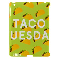 Bread Taco Tuesday Apple Ipad 3/4 Hardshell Case (compatible With Smart Cover) by Mariart
