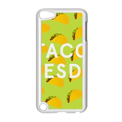 Bread Taco Tuesday Apple Ipod Touch 5 Case (white) by Mariart