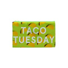 Bread Taco Tuesday Cosmetic Bag (xs) by Mariart