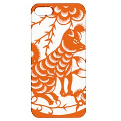 Chinese Zodiac Dog Star Orange Apple Iphone 5 Hardshell Case With Stand by Mariart