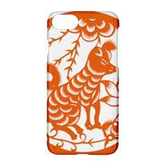 Chinese Zodiac Dog Star Orange Apple Iphone 7 Hardshell Case by Mariart