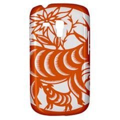 Chinese Zodiac Goat Star Orange Galaxy S3 Mini by Mariart