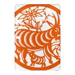 Chinese Zodiac Goat Star Orange Samsung Galaxy Tab Pro 12 2 Hardshell Case by Mariart