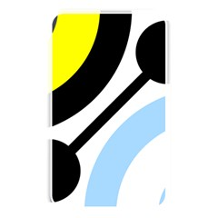 Circle Line Chevron Wave Black Blue Yellow Gray White Memory Card Reader by Mariart