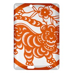 Chinese Zodiac Signs Tiger Star Orangehoroscope Amazon Kindle Fire Hd (2013) Hardshell Case by Mariart