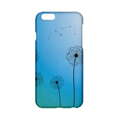 Flower Back Blue Green Sun Fly Apple Iphone 6/6s Hardshell Case by Mariart