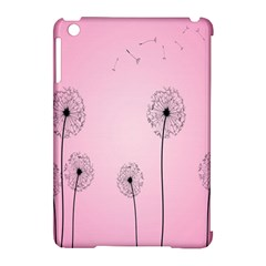 Flower Back Pink Sun Fly Apple Ipad Mini Hardshell Case (compatible With Smart Cover) by Mariart