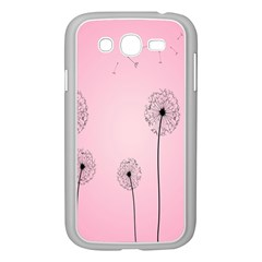 Flower Back Pink Sun Fly Samsung Galaxy Grand Duos I9082 Case (white) by Mariart