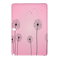 Flower Back Pink Sun Fly Samsung Galaxy Tab Pro 12 2 Hardshell Case by Mariart