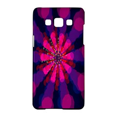 Flower Red Pink Purple Star Sunflower Samsung Galaxy A5 Hardshell Case  by Mariart
