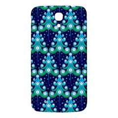Christmas Tree Snow Green Blue Samsung Galaxy Mega I9200 Hardshell Back Case by Mariart