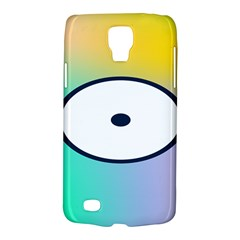 Illustrated Circle Round Polka Rainbow Galaxy S4 Active by Mariart