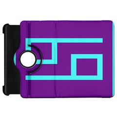 Illustrated Position Purple Blue Star Zodiac Kindle Fire Hd 7  by Mariart