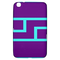Illustrated Position Purple Blue Star Zodiac Samsung Galaxy Tab 3 (8 ) T3100 Hardshell Case  by Mariart
