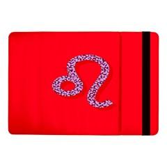 Illustrated Zodiac Red Purple Star Polka Dot Samsung Galaxy Tab Pro 10 1  Flip Case by Mariart