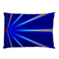 Light Neon Blue Pillow Case (two Sides) by Mariart