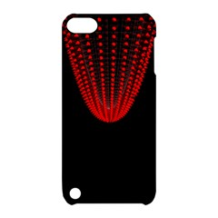 Normal Field Of An Elliptic Paraboloid Red Apple Ipod Touch 5 Hardshell Case With Stand by Mariart