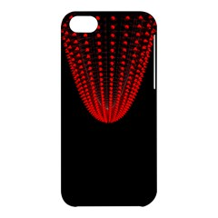 Normal Field Of An Elliptic Paraboloid Red Apple Iphone 5c Hardshell Case by Mariart