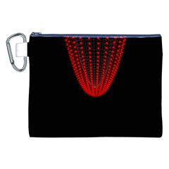 Normal Field Of An Elliptic Paraboloid Red Canvas Cosmetic Bag (xxl) by Mariart
