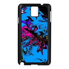 Colors Samsung Galaxy Note 3 N9005 Case (black) by Valentinaart