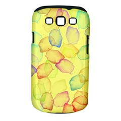 Watercolors on a yellow background          Samsung Galaxy S II i9100 Hardshell Case (PC+Silicone) by LalyLauraFLM