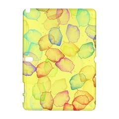 Watercolors On A Yellow Background          Htc Desire 601 Hardshell Case by LalyLauraFLM