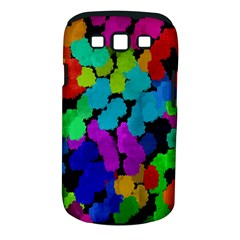Colorful strokes on a black background         Samsung Galaxy S II i9100 Hardshell Case (PC+Silicone) by LalyLauraFLM