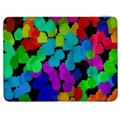 Colorful strokes on a black background         HTC One M7 Hardshell Case by LalyLauraFLM