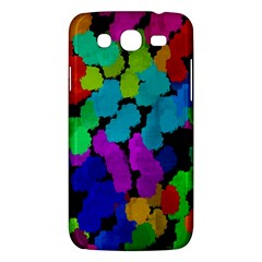 Colorful strokes on a black background         Samsung Galaxy Duos I8262 Hardshell Case by LalyLauraFLM