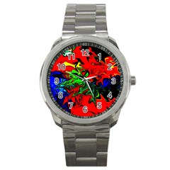 Colors Sport Metal Watch by Valentinaart