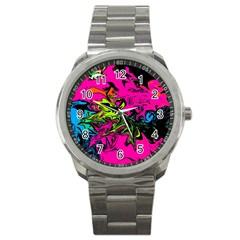 Colors Sport Metal Watch by Valentinaart