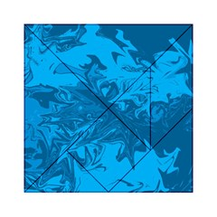 Colors Acrylic Tangram Puzzle (6  X 6 ) by Valentinaart