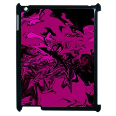 Colors Apple Ipad 2 Case (black) by Valentinaart