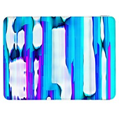 Blue Watercolors         Htc One M7 Hardshell Case by LalyLauraFLM