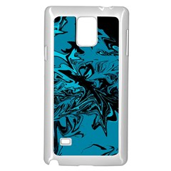 Colors Samsung Galaxy Note 4 Case (white) by Valentinaart