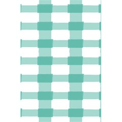 Plaid Blue Green White Line 5 5  X 8 5  Notebooks by Mariart