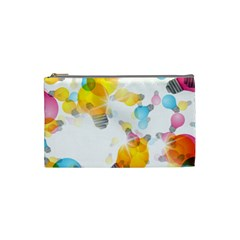 Lamp Color Rainbow Light Cosmetic Bag (small)  by Mariart