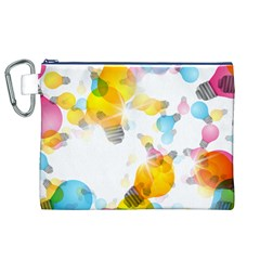 Lamp Color Rainbow Light Canvas Cosmetic Bag (xl) by Mariart