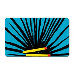 Match Cover Matches Magnet (rectangular) by Mariart