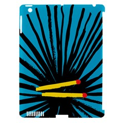 Match Cover Matches Apple Ipad 3/4 Hardshell Case (compatible With Smart Cover) by Mariart