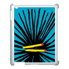 Match Cover Matches Apple Ipad 3/4 Case (white) by Mariart