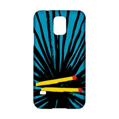 Match Cover Matches Samsung Galaxy S5 Hardshell Case  by Mariart