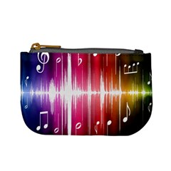 Music Data Science Line Mini Coin Purses by Mariart