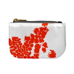 Red Spot Paint Mini Coin Purses by Mariart