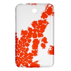 Red Spot Paint Samsung Galaxy Tab 3 (7 ) P3200 Hardshell Case  by Mariart