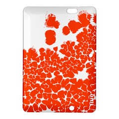 Red Spot Paint White Polka Kindle Fire Hdx 8 9  Hardshell Case by Mariart