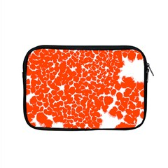 Red Spot Paint White Apple Macbook Pro 15  Zipper Case by Mariart