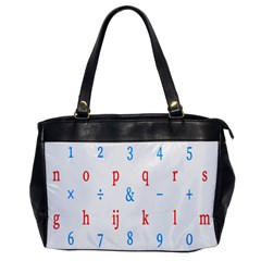 Source Serif Number Office Handbags by Mariart